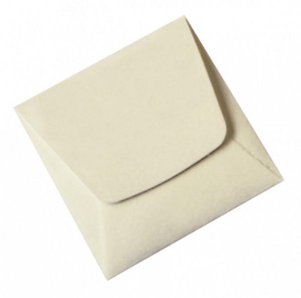 Münz-Taschen aus säurefreiem weißem Papier, 70 x 70 mm, 100er-Packung