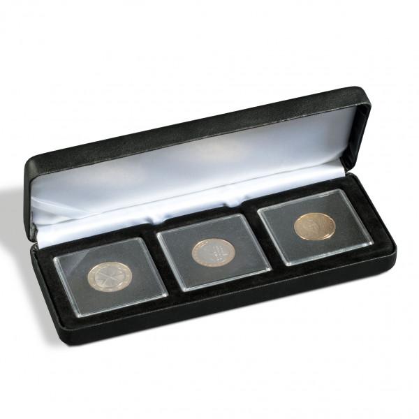 Münzetui NOBILE für 3 QUADRUM-Kapseln, schwarz