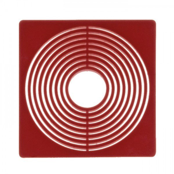 Münzbox-Inletts 51 x 51 mm, dunkelrot, 10er-Packung