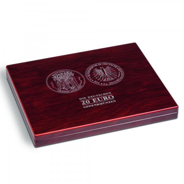 Münzkassette VOLTERRA UNO für 30 dt. 20-Euro-Gedenkmünzen in Kapseln
