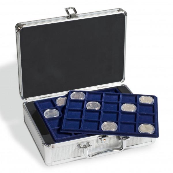 Münzkoffer CARGO S für 120 10-Euro-Münzen in Kapseln