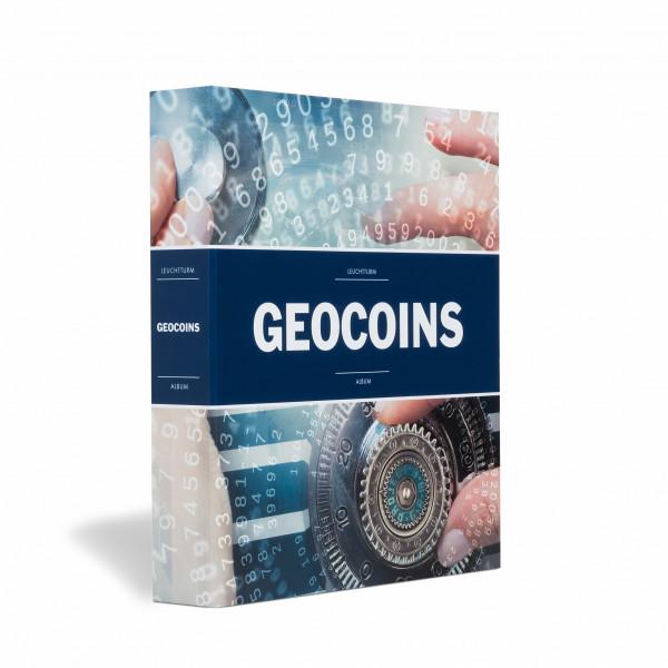 Album für Geocoins und TBs, inkl. 5 Hüllen