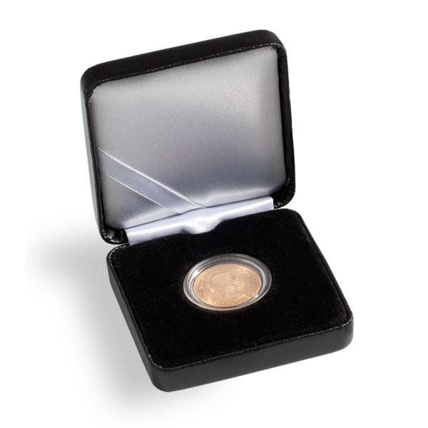 Münzetui NOBILE, 34 mm, schwarz