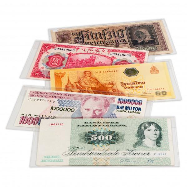 Banknoten-Schutzhüllen, BASIC 204, 50er Pack