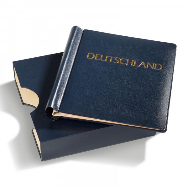 Klemmbinder KABE ATLAS, Deutschland, inkl. Schutzkassette, blau