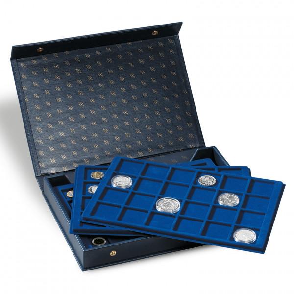 Münzkassette L inkl. 4 Münztableaus, blau
