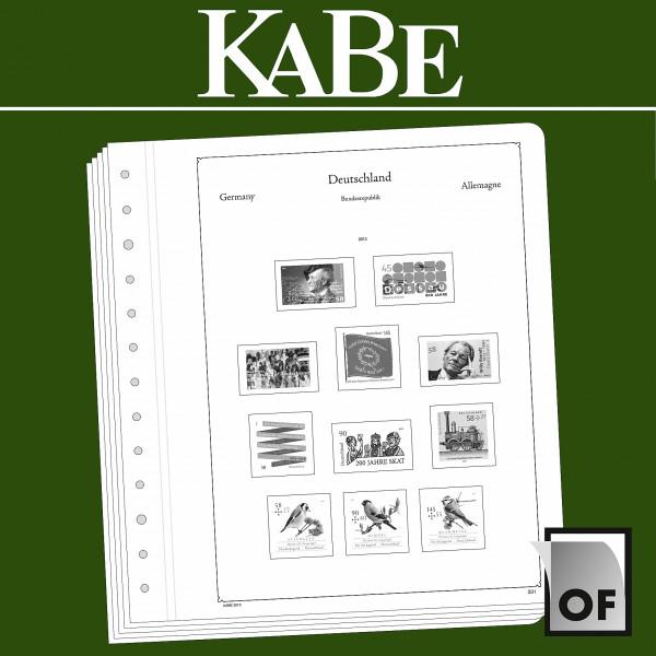 KABE Einzelblatt OF