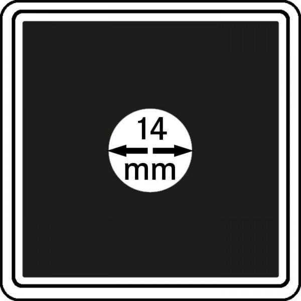 Lindner Münzkapseln CARRÉE, 4er Pack