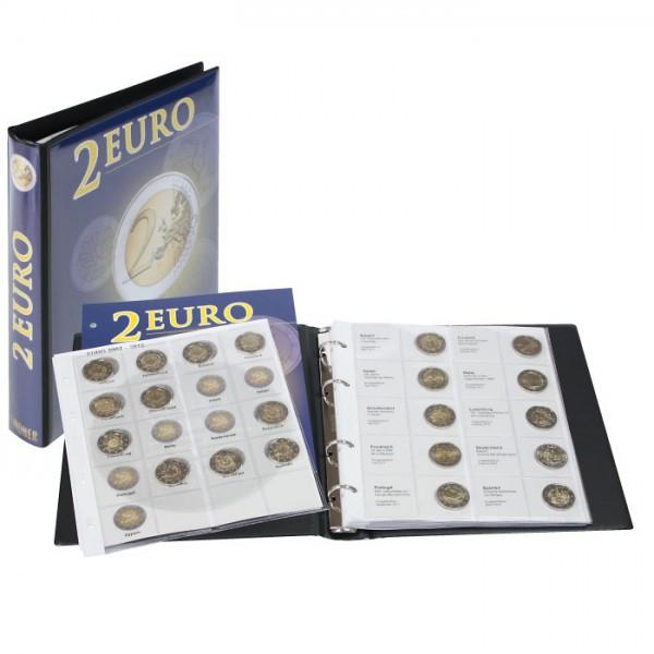 Vordruckalbum 2 Euro-Gedenkmünzen Band 3: Alle Euro-Länder (chronologisch ab Litauen 2016 bis Spanien 2017)