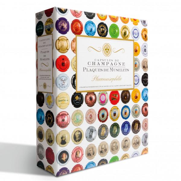 Ringbinder GRANDE, für Champagnerdeckel