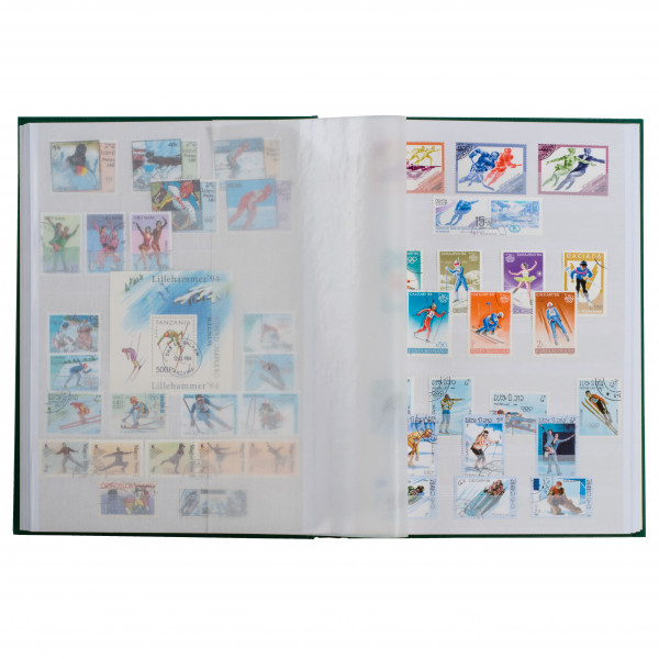 Einsteckbuch BASIC, DIN A5, 16 weiße Seiten, unwattierter Einband
