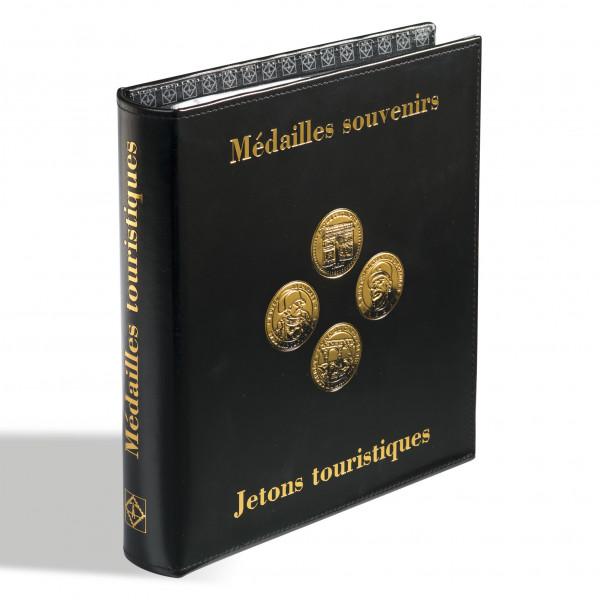 Münzalbum OPTIMA Classic-Design Médailles Souvenirs inkl.5 OPTIMA-Münzhüllen