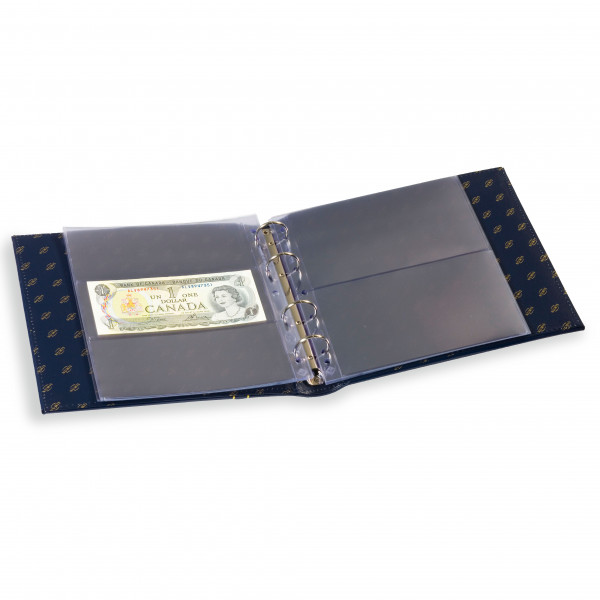 Banknoten-Album NUMIS, Classic-Design, blau