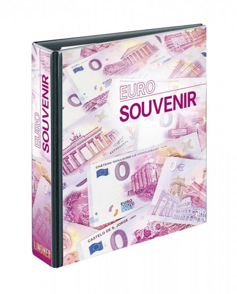 PUBLICA M Sammelalbum für 0-Euro Souvenirscheine mit 10 beidseitig bestückbaren Folienblättern, für 60 Belege