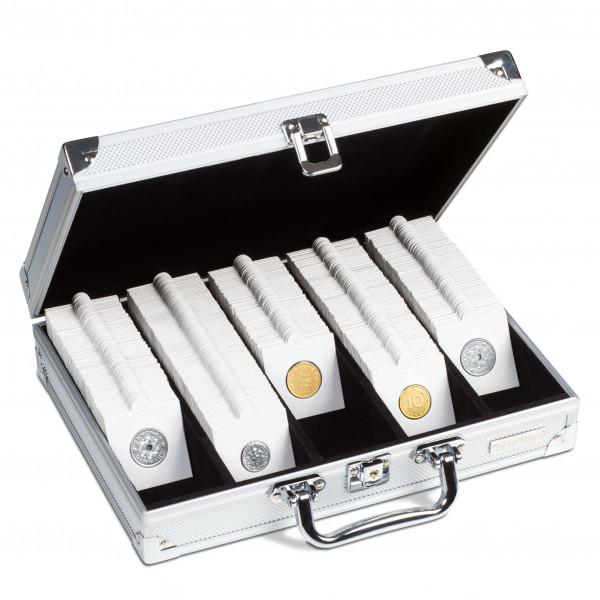 Koffer für 650 Münzrähmchen, 5-reihig