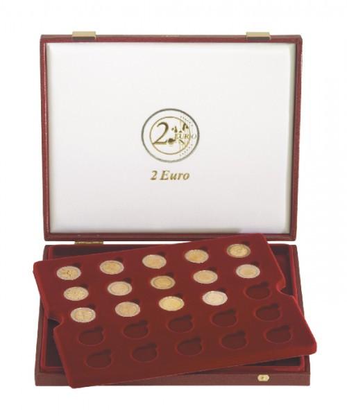 Luxus-Kassette für 50 Stück 2 Euro-Gedenkmünzen