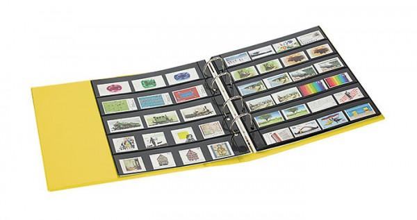 PUBLICA M COLOR Briefmarken-Einsteckalbum mit 10 beidseitig bestückbaren Folien-Einsteckblättern in zwei Ausführungen