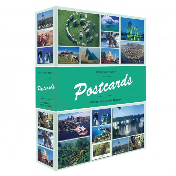 Album POSTCARDS für 200 Postkarten, mit 50 festeingebundenen Hüllen