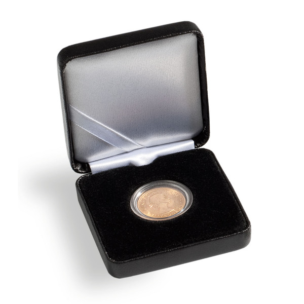 Münzetui NOBILE, 40 mm, schwarz