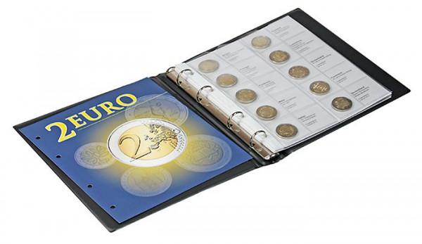Vordruckalbum 2 Euro-Gedenkmünzen Band 2: Alle Euro-Länder (chronologisch ab Belgien 2012 bis Finnland April 2016)