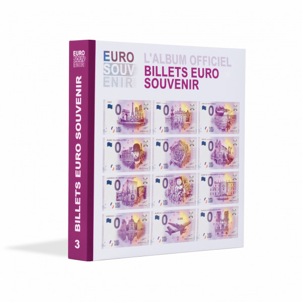 """Vordruckalbum für """"Euro Souvenir""""-Banknoten, Band 3"""