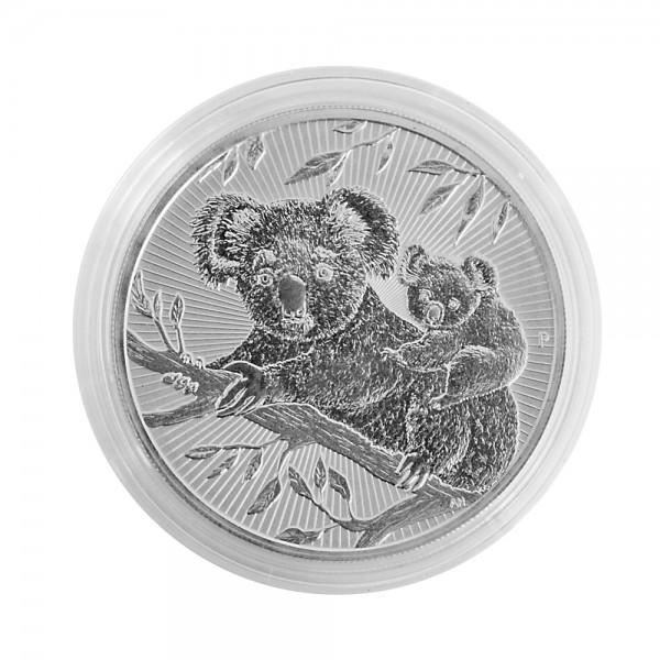 Münzkapseln Innen-Ø 41 mm, Außen-Ø 47 mm, Innenhöhe 5,5 mm, 10er-Packung, f. 2 Oz Piedfort Koala