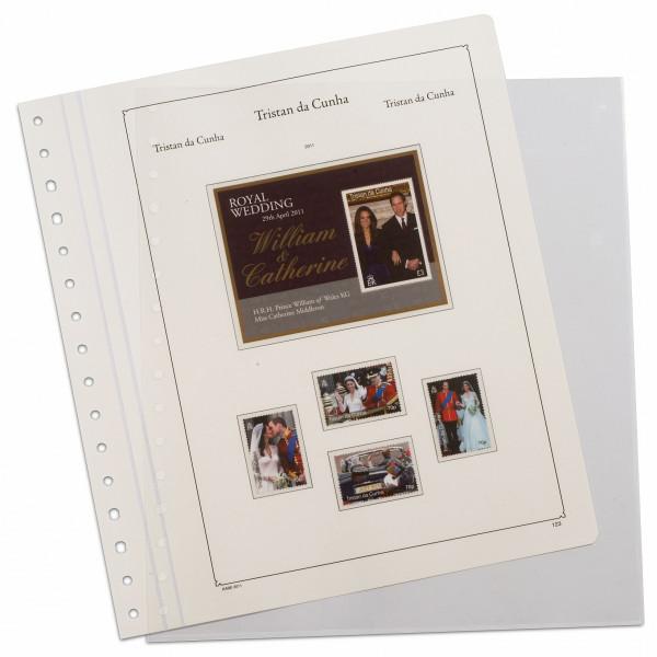 KABE Einsteckblätter STELLA, transparent mit 1 Tasche, 5er Pack