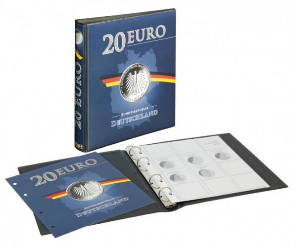 Vordruckalbum 20 Euro-Silbermünzen Bundesrepublik Deutschland