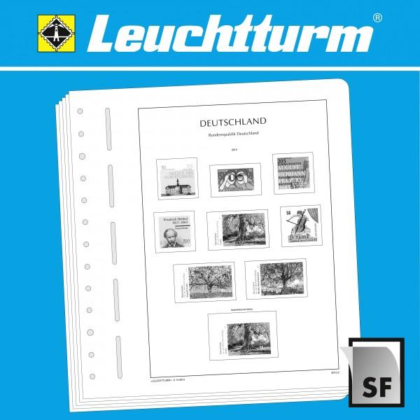 LEUCHTTURM SF-Nachtrag Bundesrepublik Deutschland Markenheftchen