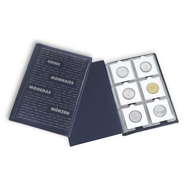 Taschenalbum ROUTE für 60 Kartonrähmchen, blau
