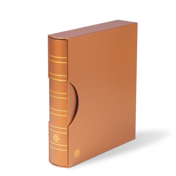 Ringbinder GRANDE, Classic-Design inkl. Schutzkassette metallic Edition
