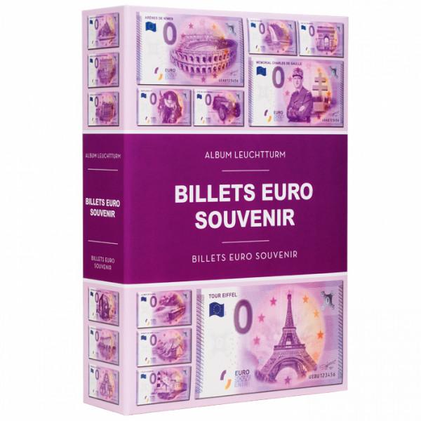 Album für 420 Null Euro Souvenir Banknoten