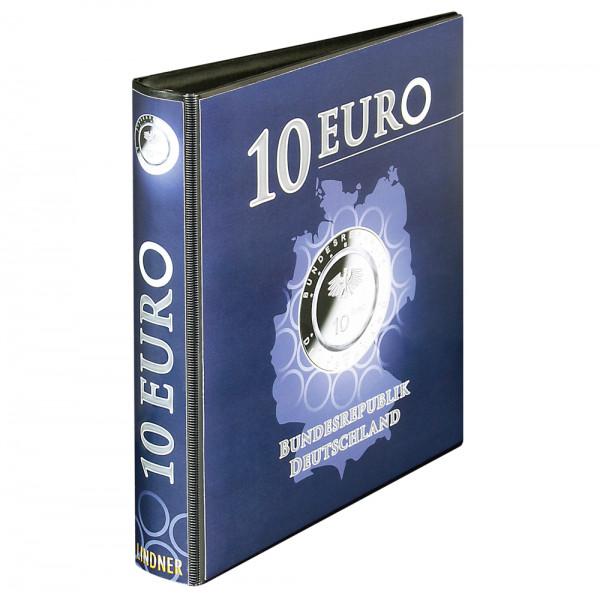 Vordruckalbum 10 Euro-Sammlermünzen mit Polymerring Bundesrepublik Deutschland
