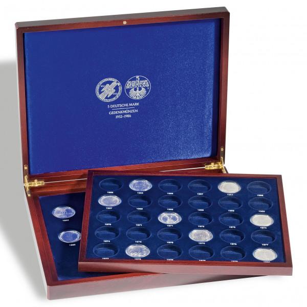 Münzkassette VOLTERRA DUO de Luxe, für 5-DM Münzen