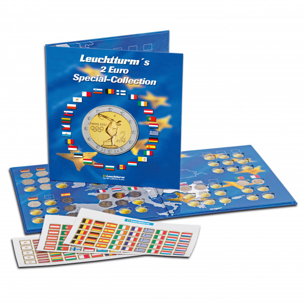 Münzalbum PRESSO, Euro-Collection für 2-Euro-Münzen