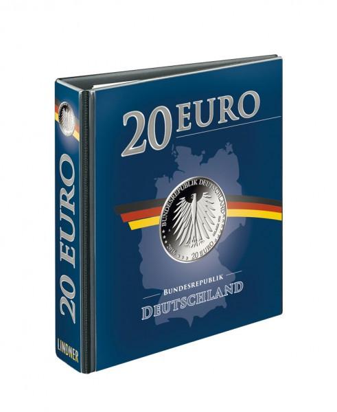 PUBLICA M Vordruckalbum 20 Euro-Silbermünzen Deutschland, leer