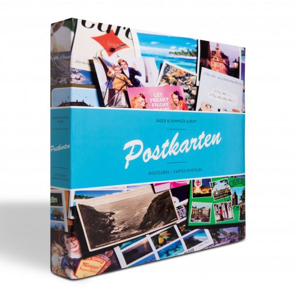 Album POSTKARTEN für 600 Postkarten, mit 50 festeingebundenen Hüllen