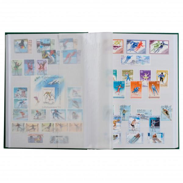 Einsteckbuch BASIC, DIN A4, 64 weiße Seiten, geteilt, unwattierter Einband, blau