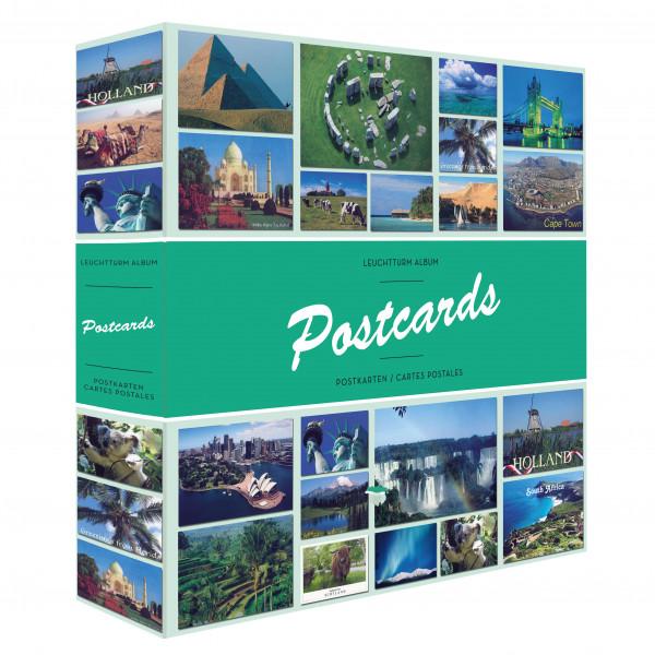 Album POSTCARDS für 600 Postkarten, mit 50 festeingebundenen Hüllen