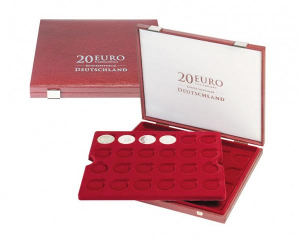 Luxus-Kassette für 20 Euro-Silbermünzen Bundesrepublik Deutschland