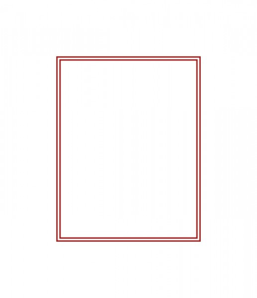 Sammelbox STANDARD ohne Facheinteilung 220 x 280 x 29 mm
