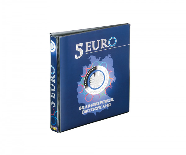 Vordruckalbum 5 Euro-Sammlermünzen Bundesrepublik Deutschland