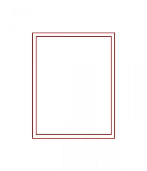 Velourseinlage,RAUCHGLAS ohne Facheinteilung 210 x 270 x 20 mm für Orden, Medaillen, extra große und dicke Münzen