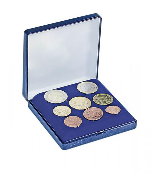 Münzen-Etui für einen Euro-Kursmünzensatz, 90 x 90 mm