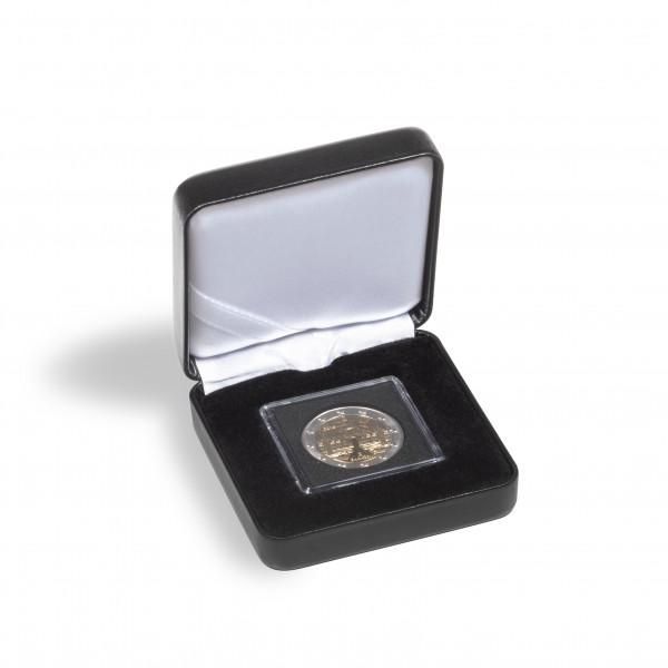 Münzetui NOBILE für 1 QUADRUM Mini-Kapsel, schwarz