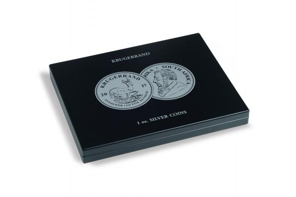 Münzkassette für 20 Krügerrand Silbermünzen (1 Oz.) in Kapseln