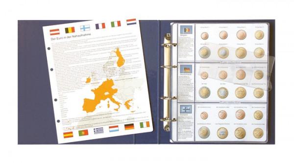 Vordruckalbum EURO COLLECTION: Kursmünzensätze alle Euro-Länder