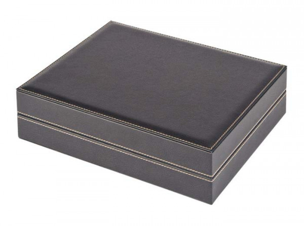 Sammelkassette NERA VARIUS mit schwarzer Schaumstoffeinlage für Pins, Orden, Abzeichen