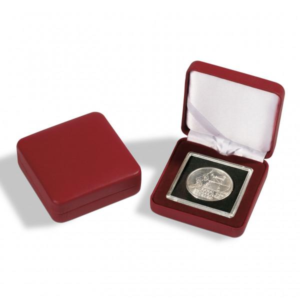 Münzetui NOBILE für 1 QUADRUM-Kapsel, rot
