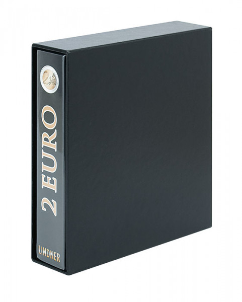 PUBLICA M 2 Euro-Vordruckalbum, Band 2 (chronologisch ab Italien 2015) mit Schutzkassette